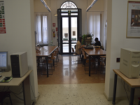 Sala lettura 1 sede di via Jappelli