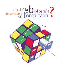 """Logo dello SBA per i corsi Refworks con lo slogan """"Perchè la bibliografia deve essere un rompicapo?"""""""